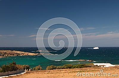 Paros, Greece, seaview