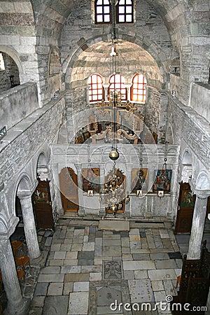 Free Paros Island, Greece - Church Interior Royalty Free Stock Photos - 4784248