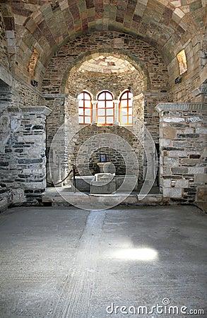 Free Paros Island, Greece - Greek Orthodox Church Stock Photo - 4784200