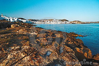 Paros landscape, Greece