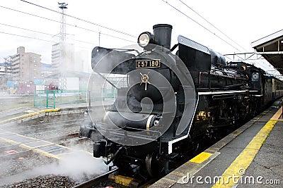 Parowy pociąg