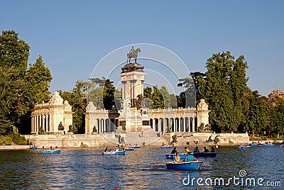 Parque del Retiro Editorial Image