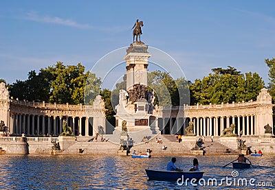 Parque del Retiro Editorial Photography