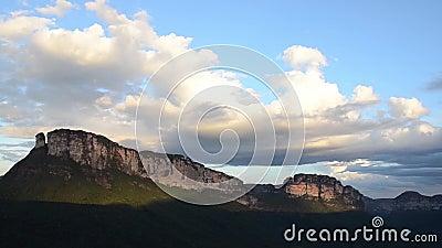 Parque nacional de Chapada Diamantina, el Brasil metrajes