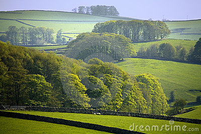 Parque nacional del districto máximo de Inglaterra Derbyshire