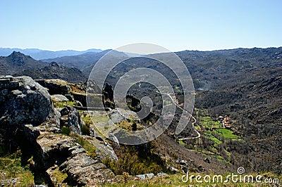 Parque Nacional Peneda Geres in Portugal