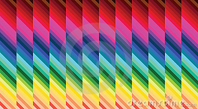 Parquet colorful hypnosis background
