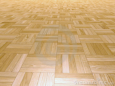 Parquet square shapes