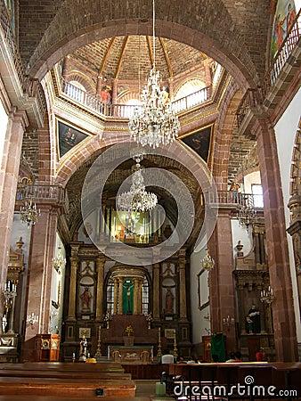 Parroquia Cathedral Interior