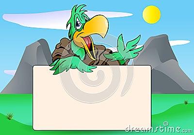 Parrot blank board