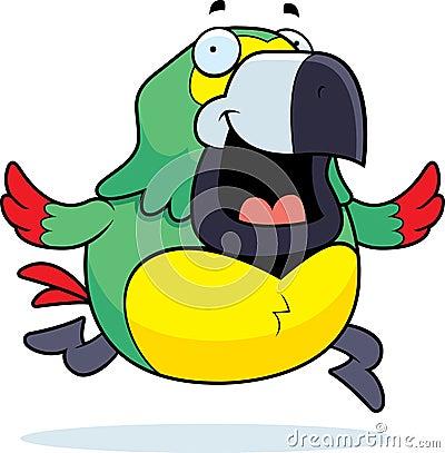 Parrot Running