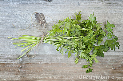 Parsley and string