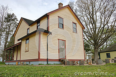 Parson House in Richmond, British Columbia Editorial Image