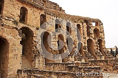 Part of amphitheater