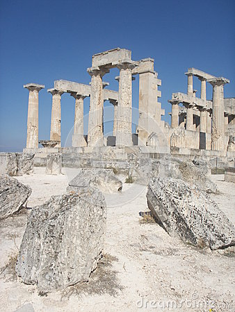 Greek ancient temple - Aphaia - Aegina