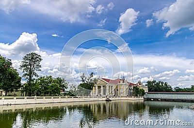 A part of the Bang Pa-in Royal Palace Editorial Photo