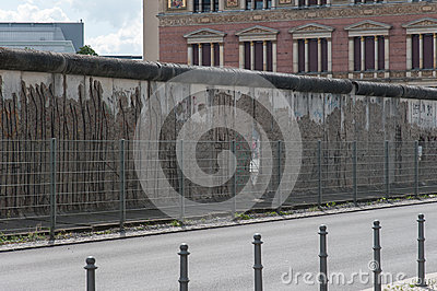 Part of Berlin Wall Stock Photo