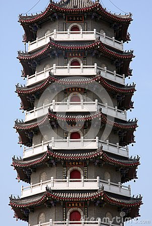 PART OF CHINESE PAGODA