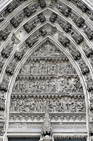 Part of Cologne Cathedral Door