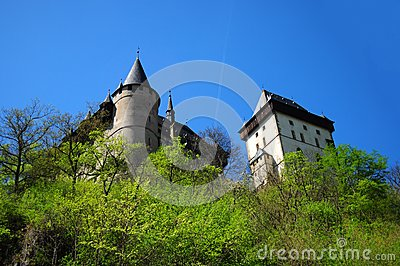 Part of Karlstejn Castle