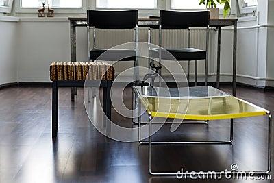 Apartment Living Room Detail