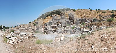 Part on the locality of Ephesus, Izmir, Turkey