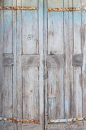 Free Part Of An Old Weathered Door Stock Photos - 42112933