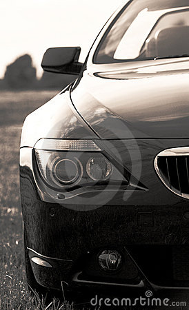 Free Part Of Bmw Sports Car, Cabriolet Royalty Free Stock Images - 14865729