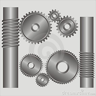 Free Part Of The Mechanism. Royalty Free Stock Images - 2129629