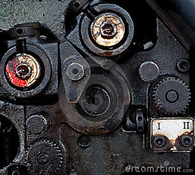 Part of old machine