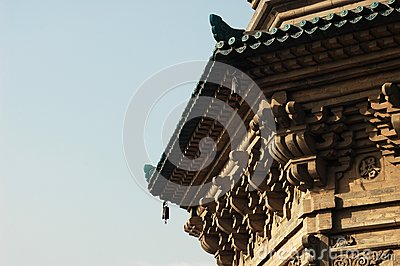 Part of  a Pagoda
