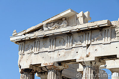 A part of Parthenon s frontone