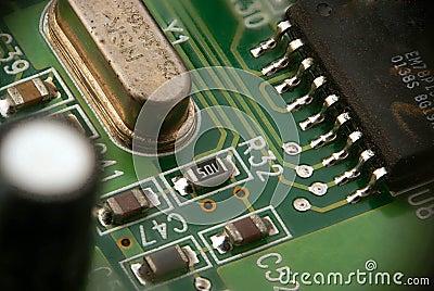 Part of PCB printed-circuit board