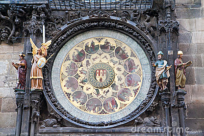 Part Of Prague Clock
