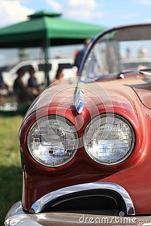Part of retro car