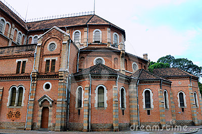 Part of Saigon Church architecture, VietNam