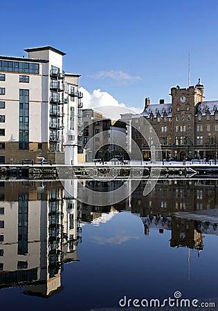 Part of the Shore, Leith Docks, Edinburgh