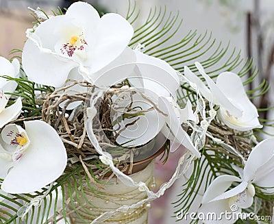 Part of wedding bouquet