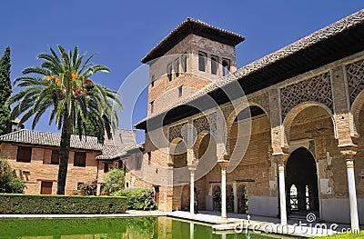 The Partal, The Alhambra, Granada.