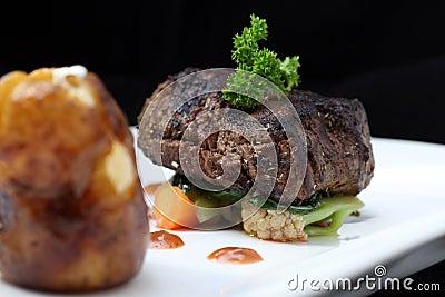 Parte della bistecca del filetto