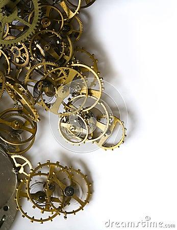 Partes del reloj viejo - VI