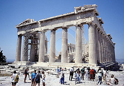The Parthenon Editorial Stock Image