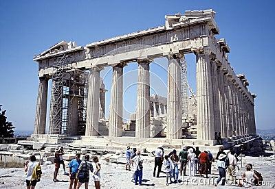 The Parthenon Editorial Stock Image