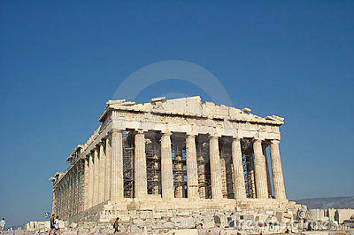 Parthenon - Greece Stock Photo