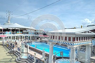 Parthenon Pool, Super Star Virgo