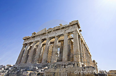 Parthenon temple in Athens, Greece