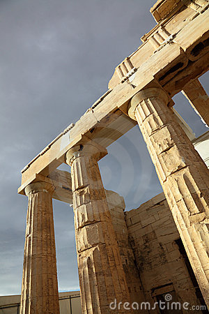 Parthenon is a temple of the Greek