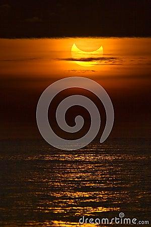 Free Partial Solar Eclipse Stock Photo - 17716050