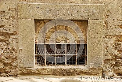 Partially Blocked Window in Tuscany