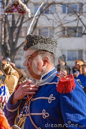 Free Participant In Surva Festival In Pernik, Bulgaria Royalty Free Stock Photography - 80913577
